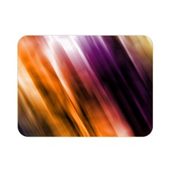 Colourful Grunge Stripe Background Double Sided Flano Blanket (Mini)