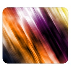 Colourful Grunge Stripe Background Double Sided Flano Blanket (Small)