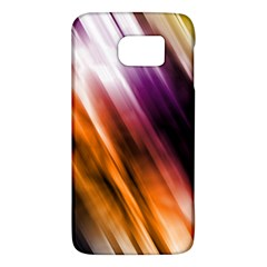 Colourful Grunge Stripe Background Galaxy S6