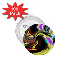 Spiral Of Tubes 1.75  Buttons (100 pack)
