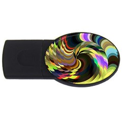 Spiral Of Tubes USB Flash Drive Oval (2 GB)