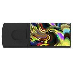 Spiral Of Tubes USB Flash Drive Rectangular (2 GB)