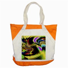 Spiral Of Tubes Accent Tote Bag