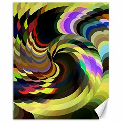 Spiral Of Tubes Canvas 11  x 14