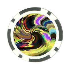 Spiral Of Tubes Poker Chip Card Guard