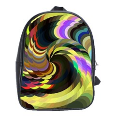 Spiral Of Tubes School Bags(Large)