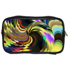 Spiral Of Tubes Toiletries Bags 2-Side