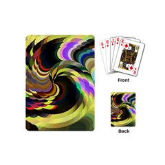 Spiral Of Tubes Playing Cards (mini)