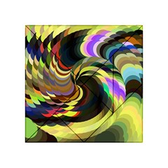 Spiral Of Tubes Acrylic Tangram Puzzle (4  x 4 )