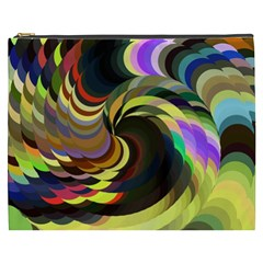 Spiral Of Tubes Cosmetic Bag (XXXL)