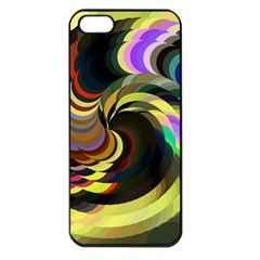 Spiral Of Tubes Apple Iphone 5 Seamless Case (black)