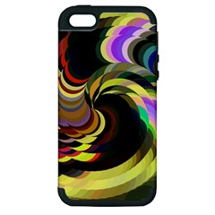 Spiral Of Tubes Apple iPhone 5 Hardshell Case (PC+Silicone)