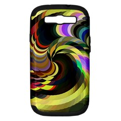 Spiral Of Tubes Samsung Galaxy S III Hardshell Case (PC+Silicone)