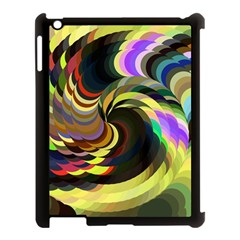 Spiral Of Tubes Apple Ipad 3/4 Case (black)