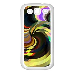 Spiral Of Tubes Samsung Galaxy S3 Back Case (white)