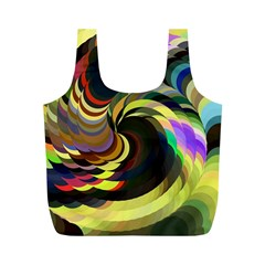 Spiral Of Tubes Full Print Recycle Bags (m)