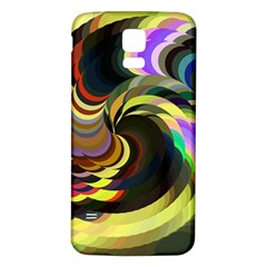 Spiral Of Tubes Samsung Galaxy S5 Back Case (White)