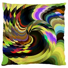 Spiral Of Tubes Large Flano Cushion Case (One Side)