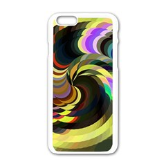 Spiral Of Tubes Apple iPhone 6/6S White Enamel Case