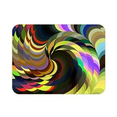 Spiral Of Tubes Double Sided Flano Blanket (Mini)