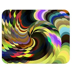 Spiral Of Tubes Double Sided Flano Blanket (Medium)