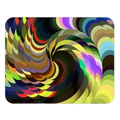 Spiral Of Tubes Double Sided Flano Blanket (Large)