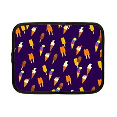 Seamless Cartoon Ice Cream And Lolly Pop Tilable Design Netbook Case (Small)