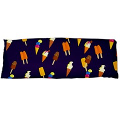 Seamless Cartoon Ice Cream And Lolly Pop Tilable Design Body Pillow Case Dakimakura (two Sides)