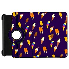 Seamless Cartoon Ice Cream And Lolly Pop Tilable Design Kindle Fire HD 7