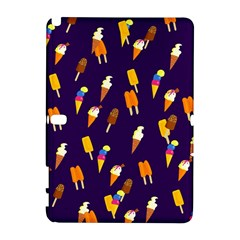 Seamless Cartoon Ice Cream And Lolly Pop Tilable Design Galaxy Note 1