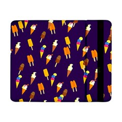 Seamless Cartoon Ice Cream And Lolly Pop Tilable Design Samsung Galaxy Tab Pro 8 4  Flip Case
