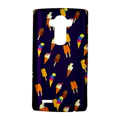 Seamless Cartoon Ice Cream And Lolly Pop Tilable Design Lg G4 Hardshell Case