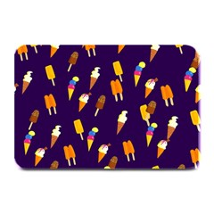 Seamless Cartoon Ice Cream And Lolly Pop Tilable Design Plate Mats