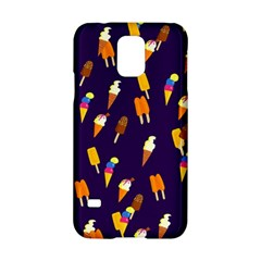Seamless Cartoon Ice Cream And Lolly Pop Tilable Design Samsung Galaxy S5 Hardshell Case