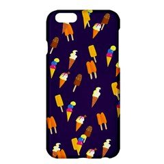 Seamless Cartoon Ice Cream And Lolly Pop Tilable Design Apple iPhone 6 Plus/6S Plus Hardshell Case