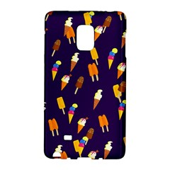Seamless Cartoon Ice Cream And Lolly Pop Tilable Design Galaxy Note Edge