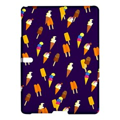 Seamless Cartoon Ice Cream And Lolly Pop Tilable Design Samsung Galaxy Tab S (10.5 ) Hardshell Case