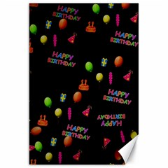 Cartoon Birthday Tilable Design Canvas 20  X 30