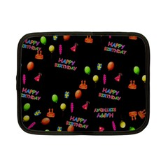 Cartoon Birthday Tilable Design Netbook Case (small)