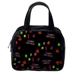Cartoon Birthday Tilable Design Classic Handbags (One Side)