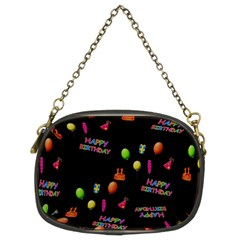 Cartoon Birthday Tilable Design Chain Purses (two Sides)