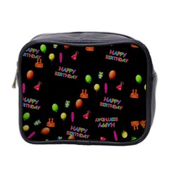Cartoon Birthday Tilable Design Mini Toiletries Bag 2-Side
