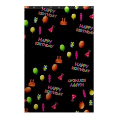 Cartoon Birthday Tilable Design Shower Curtain 48  x 72  (Small)