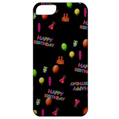 Cartoon Birthday Tilable Design Apple iPhone 5 Classic Hardshell Case