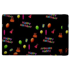 Cartoon Birthday Tilable Design Apple Ipad 3/4 Flip Case