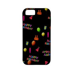 Cartoon Birthday Tilable Design Apple Iphone 5 Classic Hardshell Case (pc+silicone)
