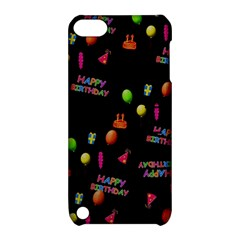 Cartoon Birthday Tilable Design Apple Ipod Touch 5 Hardshell Case With Stand