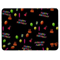 Cartoon Birthday Tilable Design Samsung Galaxy Tab 7  P1000 Flip Case
