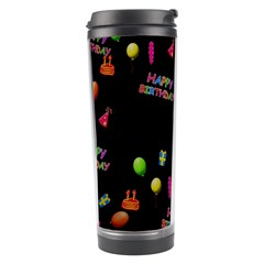 Cartoon Birthday Tilable Design Travel Tumbler