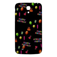 Cartoon Birthday Tilable Design Samsung Galaxy Mega I9200 Hardshell Back Case